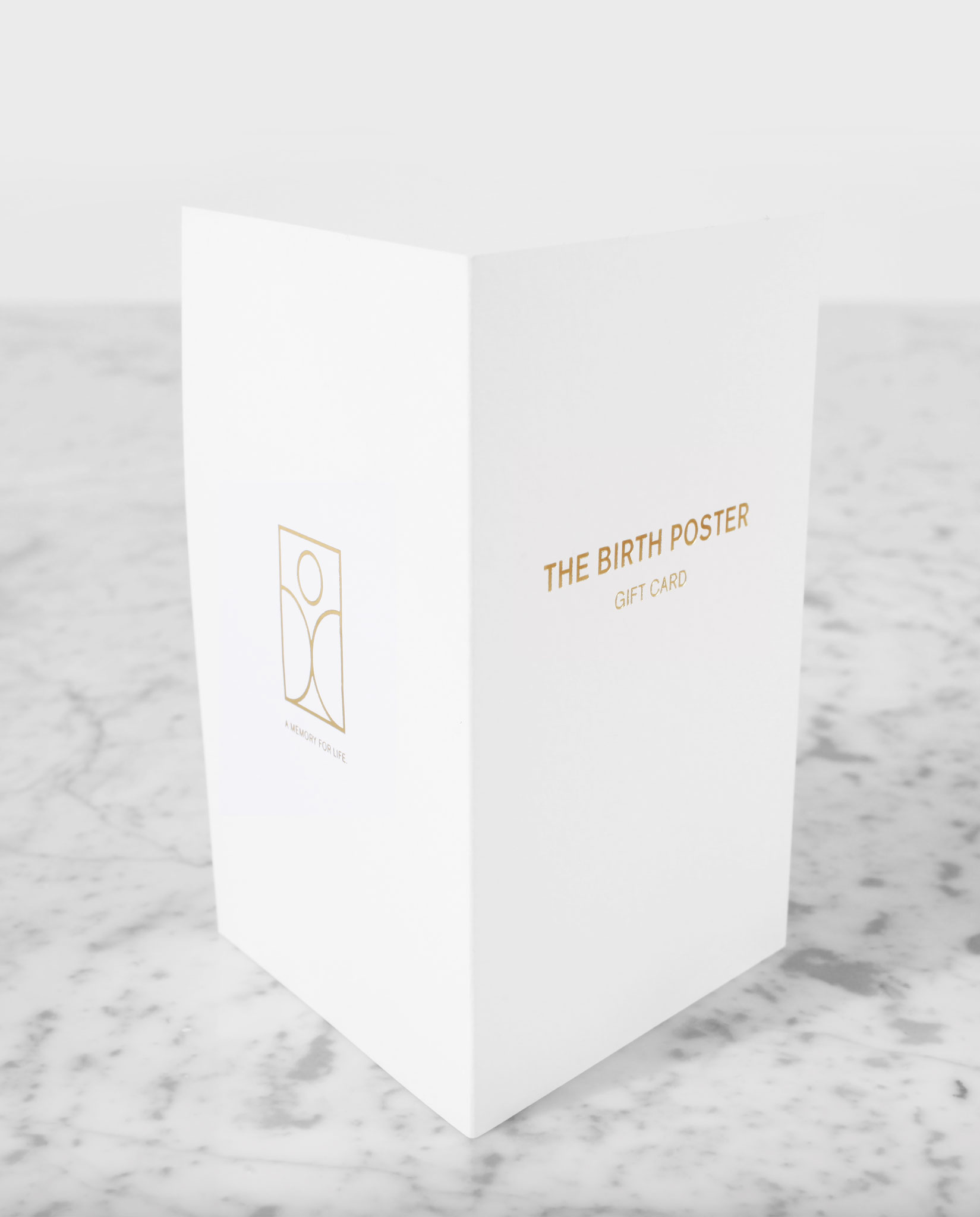 The Birth Poster - Gift card